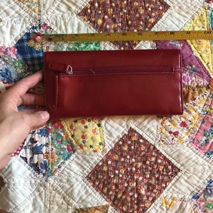 Kenneth Cole Bags - KENNETH KOLE | red wallet